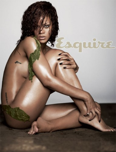 Rihanna, nuda, sexy, foto, Esquire, 2011, Talk that Talk, album, cd, cover, copertina, foto