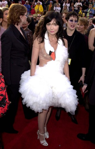 Bjork - red carpet Oscar cigno.jpg