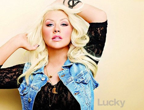 Christina Aguilera, Lucky magazine, intervista, disco, cd, album, nuovo, 2012, your body, singolo, video, foto, grassa, forma, foto